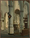 Interior of the Oude Kerk, Delft MET DP146460.jpg