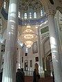 Interior of the mosque Grand Masjid Yakubi CHarkhi, Dushanbe.jpg
