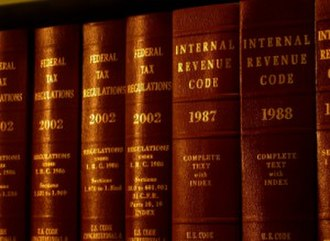 Tax law -  The Internal Revenue Code is the primary statutory basis of federal tax law in the United States. The Code of Federal Regulations is the Treasury Department's regulatory interpretation of the federal tax laws passed by Congress, which carry the weight of law if the interpretation is reasonable. Tax treaties and case law in U.S. Tax Court and other federal courts constitute the remainder of tax law in the United States.