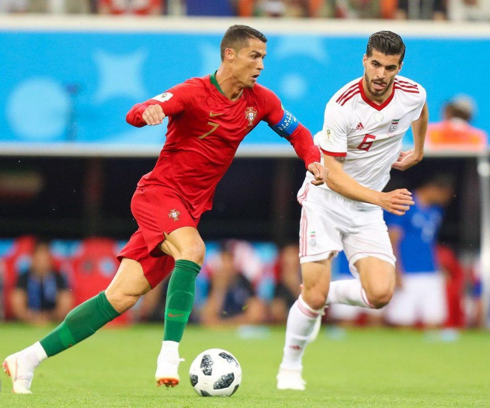 Iran and Portugal match at the FIFA World Cup 2018 3
