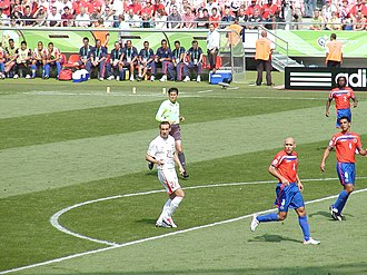 Ireneusz Jeleń - Ireneusz Jeleń during the 2006 FIFA World Cup game against Costa Rica