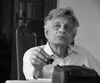 Irfan Habib - Irfan Habib – at his residence in Aligarh