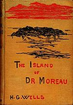 First edition (1896) cover of The Island of Doctor Moreau