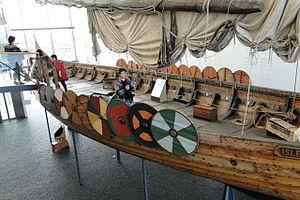 Íslendingur - Íslendingur in Viking World museum