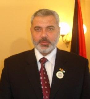 Ismail Haniyeh Palestinian politician