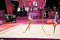 Israel Rhythmic gymnastics at the 2012 Summer Olympics (7915103470).jpg