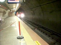 Dosya:Istanbul Metro (M2 hattı) Şişhane istasyonu (Şubat 2013).ogv