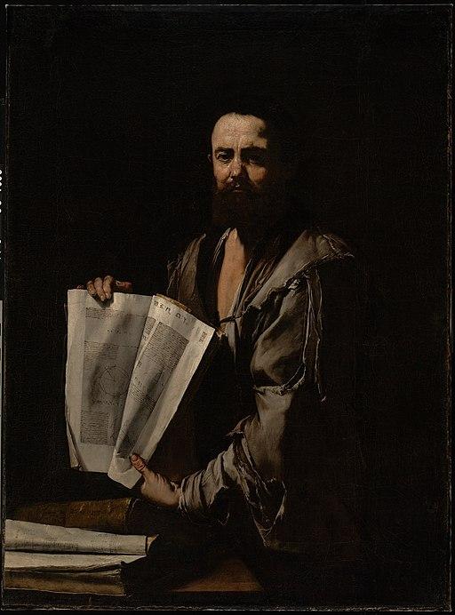 Euclid by Jusepe de Ribera – Joy of Museums
