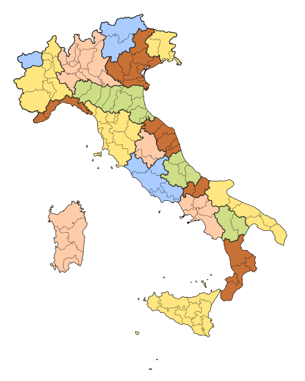 Italian regions provinces white no labels.svg