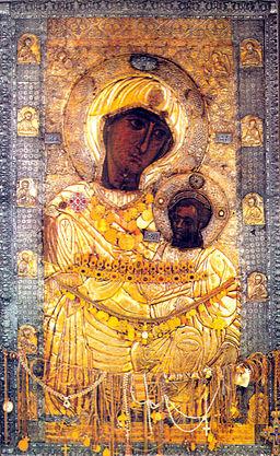 Ikone der Gottesmutter von der Pforte, Kloster Iviron, Athos