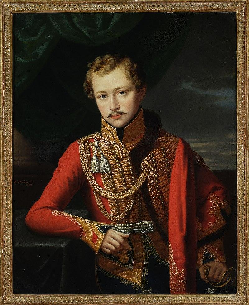 Юзеф Олешкевич - Портрет офицера - MP 2734 - Национальный музей в Варшаве.jpg
