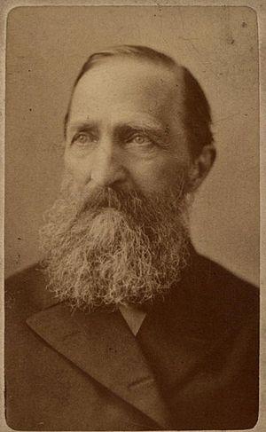 Józef Ignacy Kraszewski - Photograph of Kraszewski taken before 1886