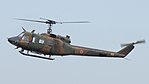 JGSDF UH-1J(41927) fly over at JMSDF Tokushima Air Base September 30, 2017 01.jpg