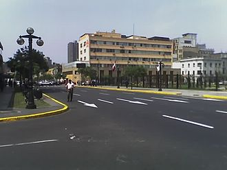 National Jury of Elections - Headquarters in downtown Lima.