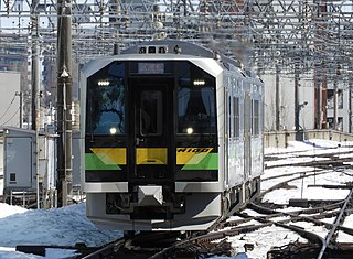 H100 series Diesel-electric multiple unit train type to be operated in Japan