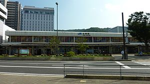 Ōtsu - Main Gate of JR West Ōtsu Station