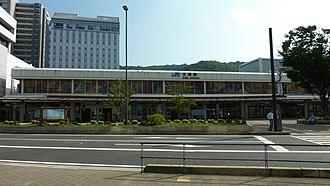 Ōtsu - Main Gate of JR West Ōtsu Station