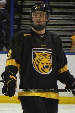 Colorado College Tigers men's ice hockey - Jaden Schwartz during the 2011 NCAA Tournament