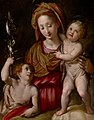 Jacopo da Empoli - Madonna and Child with the Young St. John the Baptist - 2016.147 - Museum of Fine Arts, Houston.jpg