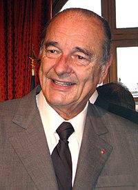 Ο Ζακ Σιράκ (γαλλικά: Jacques Chirac, Παρίσι, 29 Νοεμβρίου 1932 - 26 Σεπτεμβρίου 2019) ήταν Γάλλος πολιτικός και πρώην Πρόεδρος της Γαλλικής Δημοκρατίας.