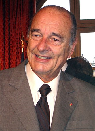 Union for the Mediterranean - Former French President Jacques Chirac, one of the founders of the Barcelona Process.