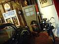 Jaguar XK120 Coupe and Solex Moped at Boxenstop Car & Toy Museum.jpg