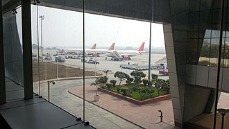 Jaipur International Airport - Inside Terminal 2