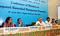 Jairam Ramesh addressing a National Conference on Integrated Watershed Management Programme, in New Delhi. The Minister of State for Rural Development, Shri Pradeep Jain and the Secretary, Department of Land Resources.jpg