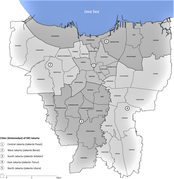 File:Jakarta districts.png - Wikimedia Commons on