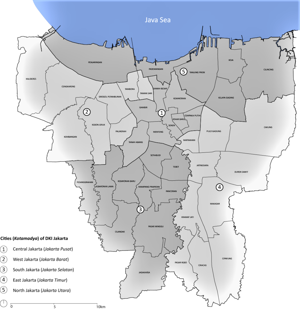Jakarta districts