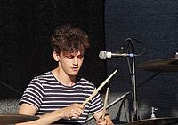 Jakob Sudau (Tonbandgerät) (Rio-Reiser-Fest Unna 2013) IMGP8053 smial wp.jpg