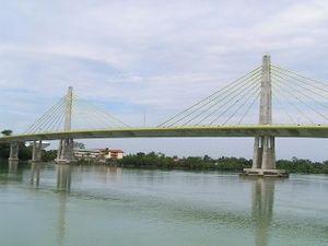 Muar Second Bridge - Image: Jambatanmuarkedua