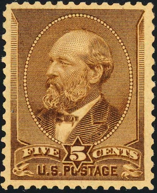 James Garfield2 1882 Issue-5c