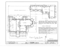 James Mareau Brown House, 2328 Broadway, Galveston, Galveston County, TX HABS TEX,84-GALV,1- (sheet 1 of 8).png