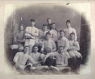 1886 Navy Midshipmen football team - 1886 Navy Midshipmen Football Team