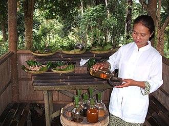 Jamu - Jamu warung in Central Java.