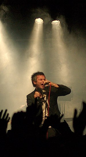 Kaizers Orchestra - Janove Ottesen live with  Kaisers Orchestra in 2008.