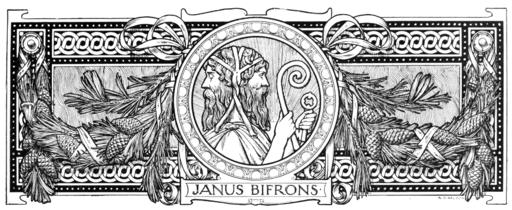 Janus Bifrons by Adolphe Giraldon