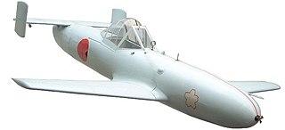 Japanese Navy purpose-built, rocket-powered human-guided kamikaze attack aircraft