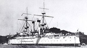 Imperial Japanese Navy ship classifications - 1st class battleship ''Yashima''
