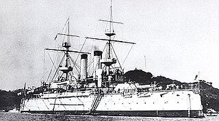 Japanese battleship <i>Yashima</i> Japanese Fuji-class battleship