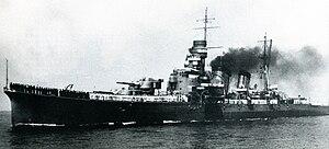 Japanese cruiser Kinugasa