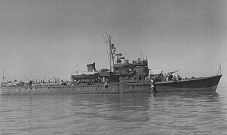 No.13-class submarine chaser - Image: Japanese submarine chaser 38 in 1945