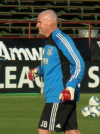 Jason Batty - Batty with the Earthquakes in September 2010