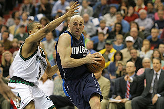 Jason Kidd - Kidd drives to the bucket in 2008