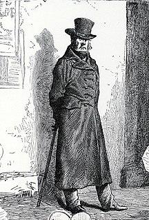 Javert fictional character from Les Misérables