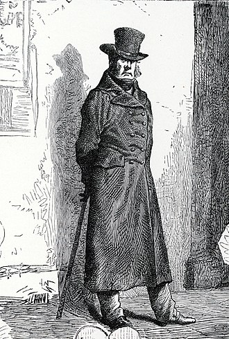 Thénardiers - Javert, from the first French-language edition.