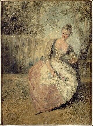 Jean-Antoine Watteau - L'Amante inquiète - Google Art Project.jpg