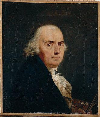 Morges - Jean-François Sablet, self-portrait
