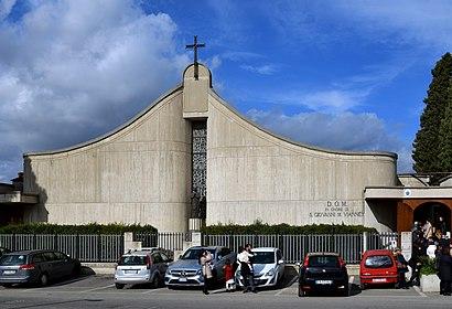 Come Arrivare A Chiesa Di San Giovanni Maria Vianney A Roma Con Bus